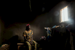 Africa, Democratic Republic of Congo, North Kivu, Rutshuru, 27/01/2017. Maria Gnabajumba, 40, was raped for two days by an armed group, on the orders of the children of her husband's first wife. Today she has started to live again thanks to the farming cooperative of the women of Rutshuru, created as part of the SAD programme of the Italian NGO AVSI. So far, she has told her story to no-one, for fear of discrimination and of being repudiated by her husband, who repudiated his first wife after she had also been raped