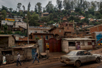 Africa, Democratic Republic of Congo, South Kivu, Bukavu. 06/02/2017 A glimpse of the city of Bukavu. Today the DRC is experiencing a period of major political instability caused by the end of the third mandate of President Kabila, who does not wish to give up leadership of the country as established by the constitution, and the fighting in the streets is causing bloodshed from Kinshasa to Goma. As if this were not enough, the country is also experiencing an intensification of inter-ethnic conflict in the Kivu Region, as well as renewed terrorist infiltration.