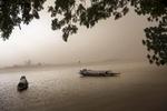 Africa, Mali, Mopti. A glimpse of Mopti. The Bani River. ©Marco Gualazzini/ New York Times
