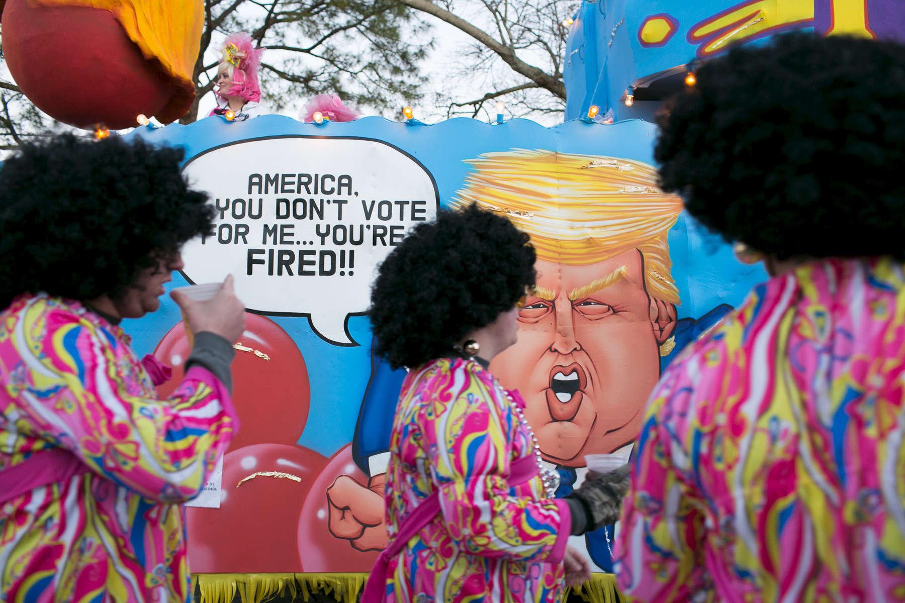 Mardi Gras 2016 on February 4, 2016.