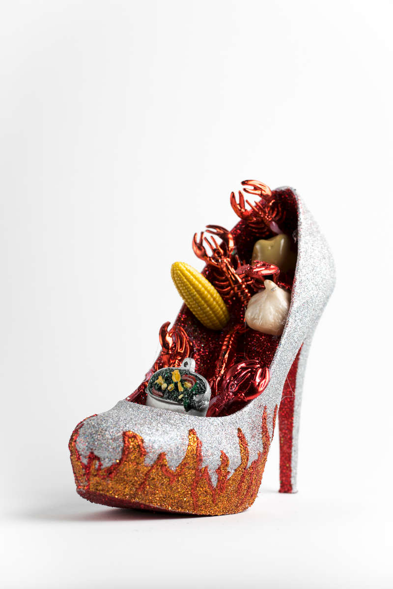 Muses shoe project! February 11, 2017. Photo by Paul Morse