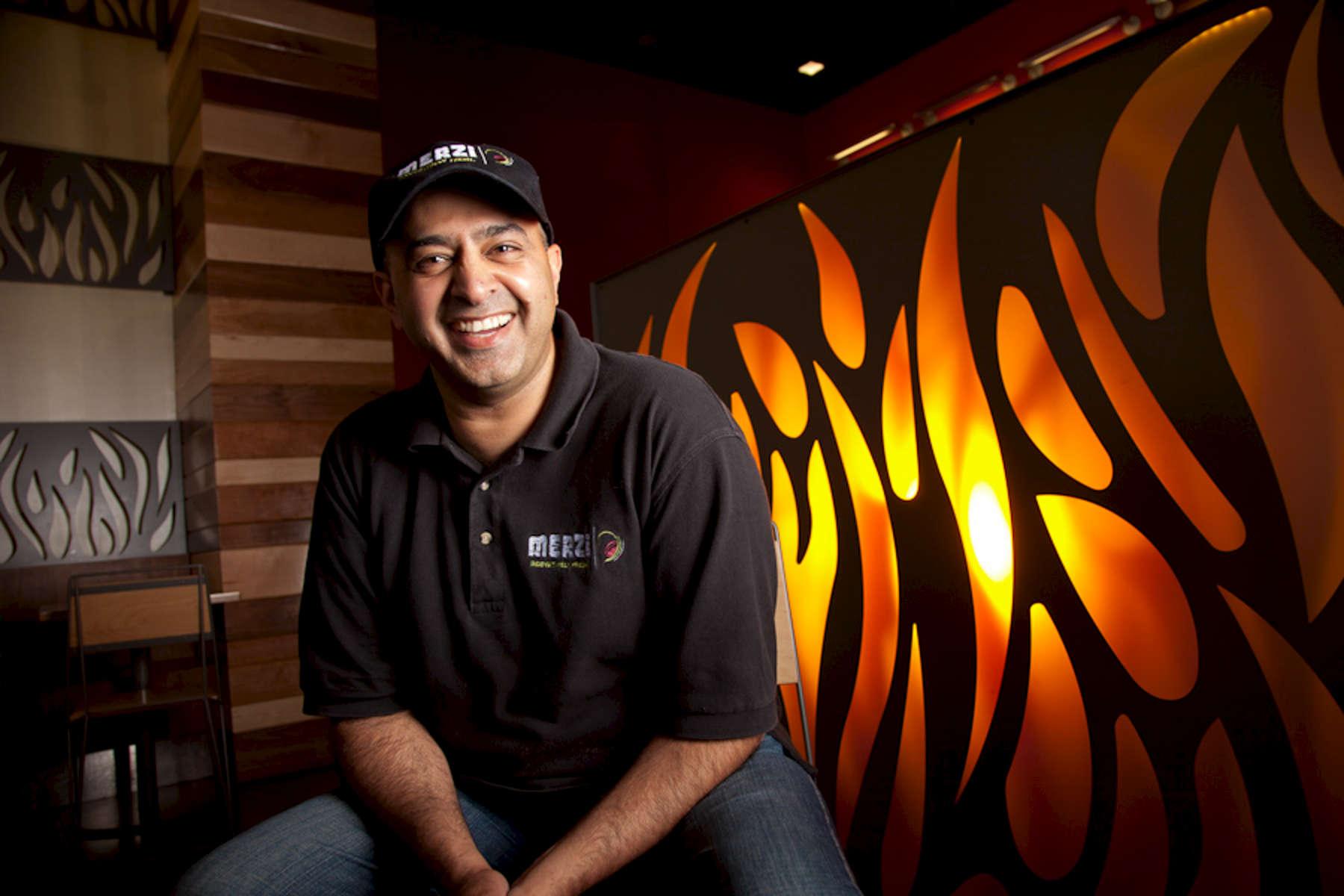 Qaiser Kazmi at his Indian restaurant Merzi in Washington DC on June 6, 2011. Photos by Paul Morse