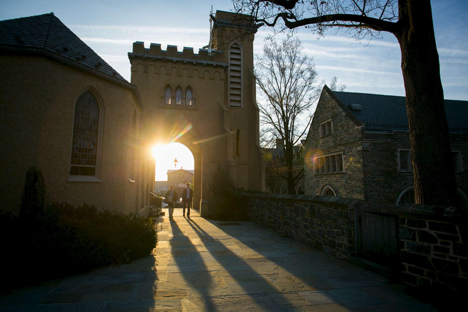 St. Albans School on December 4, 2014.