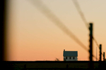 Sunrise on Prairie Chapel. Crawford, Texas. POW