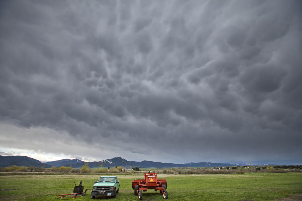 Storm Gathering over Farm 51.
