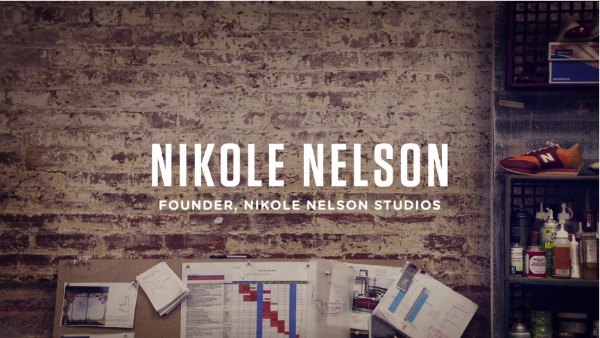 Nikole Nelson talks about the evolution of her experience from working at Coach to creating art in everything that she does. She has worked on set designs for large campaigns and creates visual depth for various brands. Nelson describes her SCAD network as an essential part to her overall success.