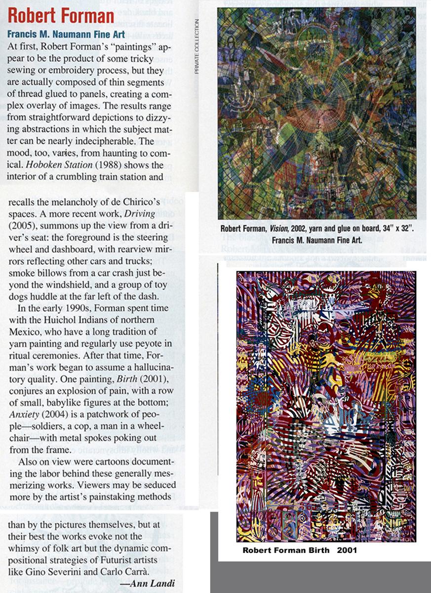 ArtNews by Ann Landi