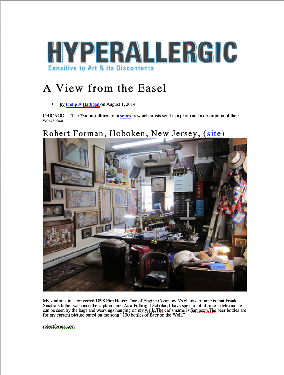Hyperallergic 2014