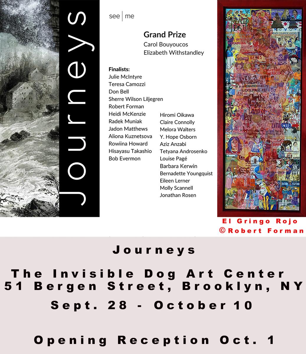 Journeys @ The Invisable Dog Art Center