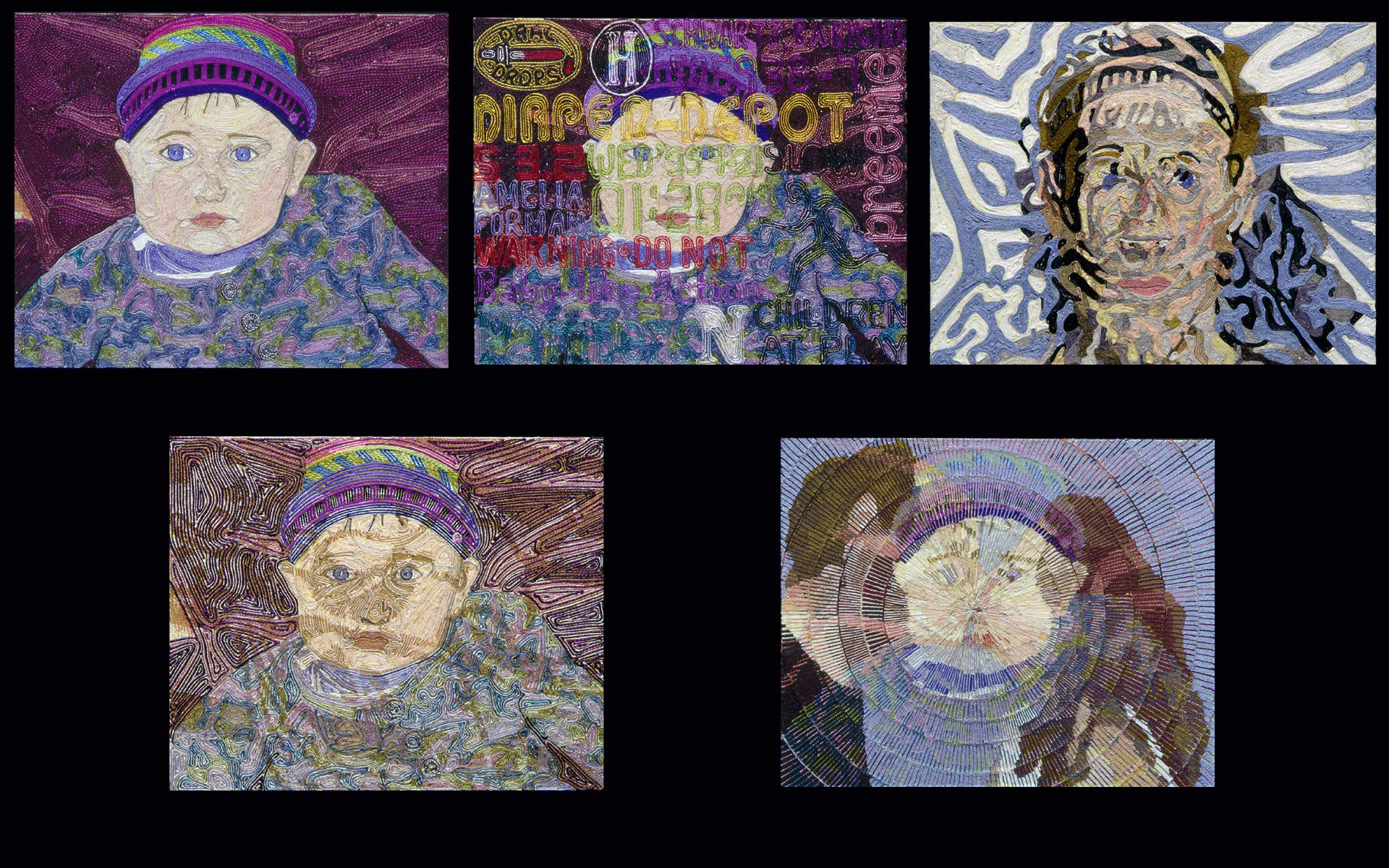 Amelia Variations 8 X 10 each