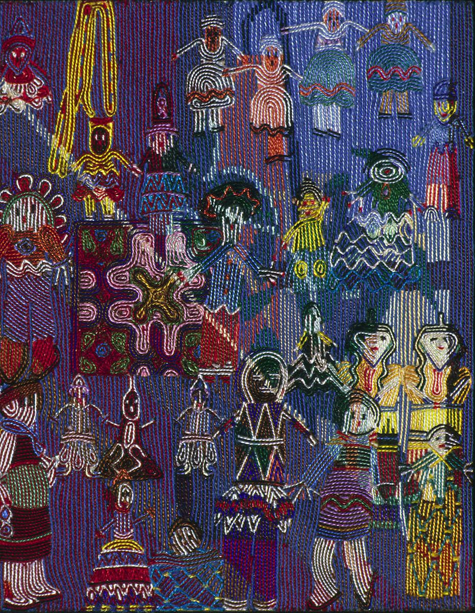 Beaded Dolls 10 x 8  1997