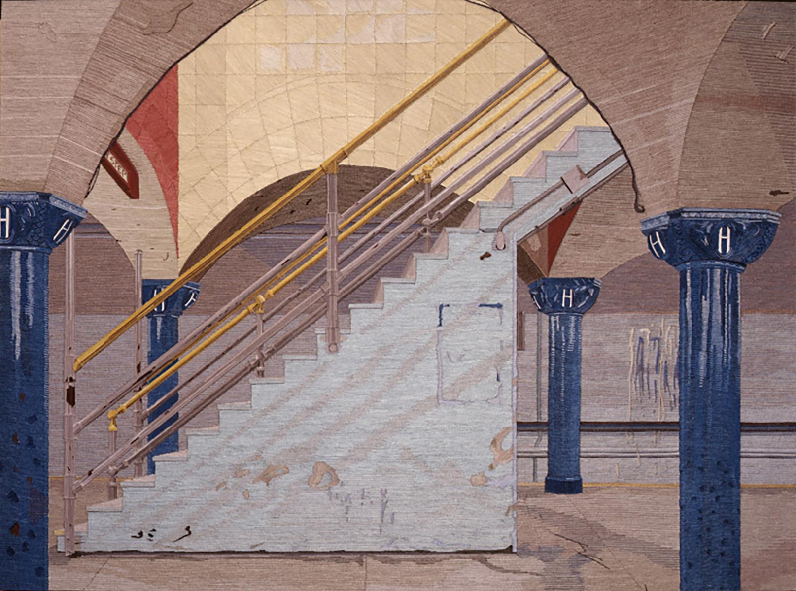 Hoboken Station 30 X 40  1988