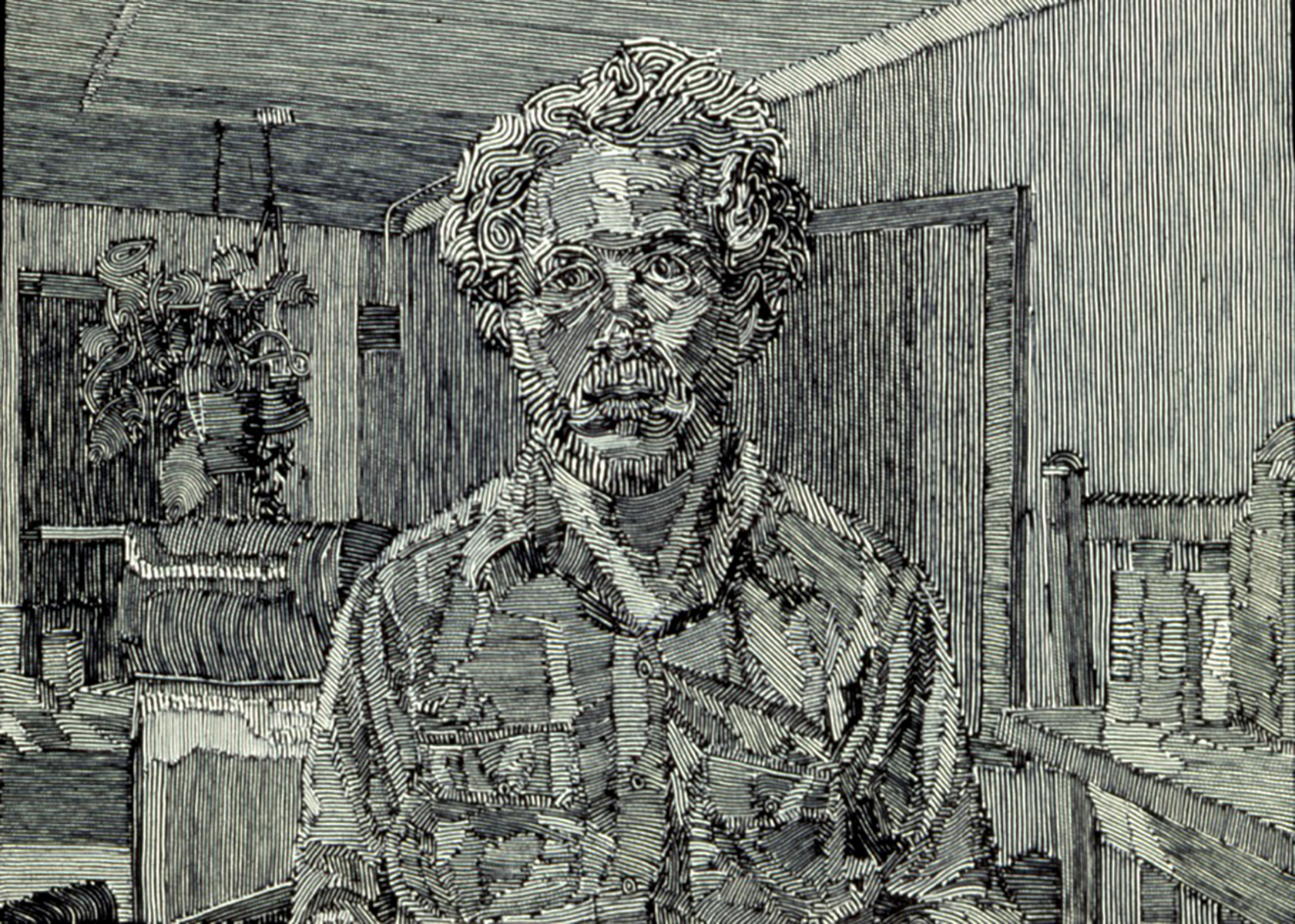 SelfPortrai #1 1976