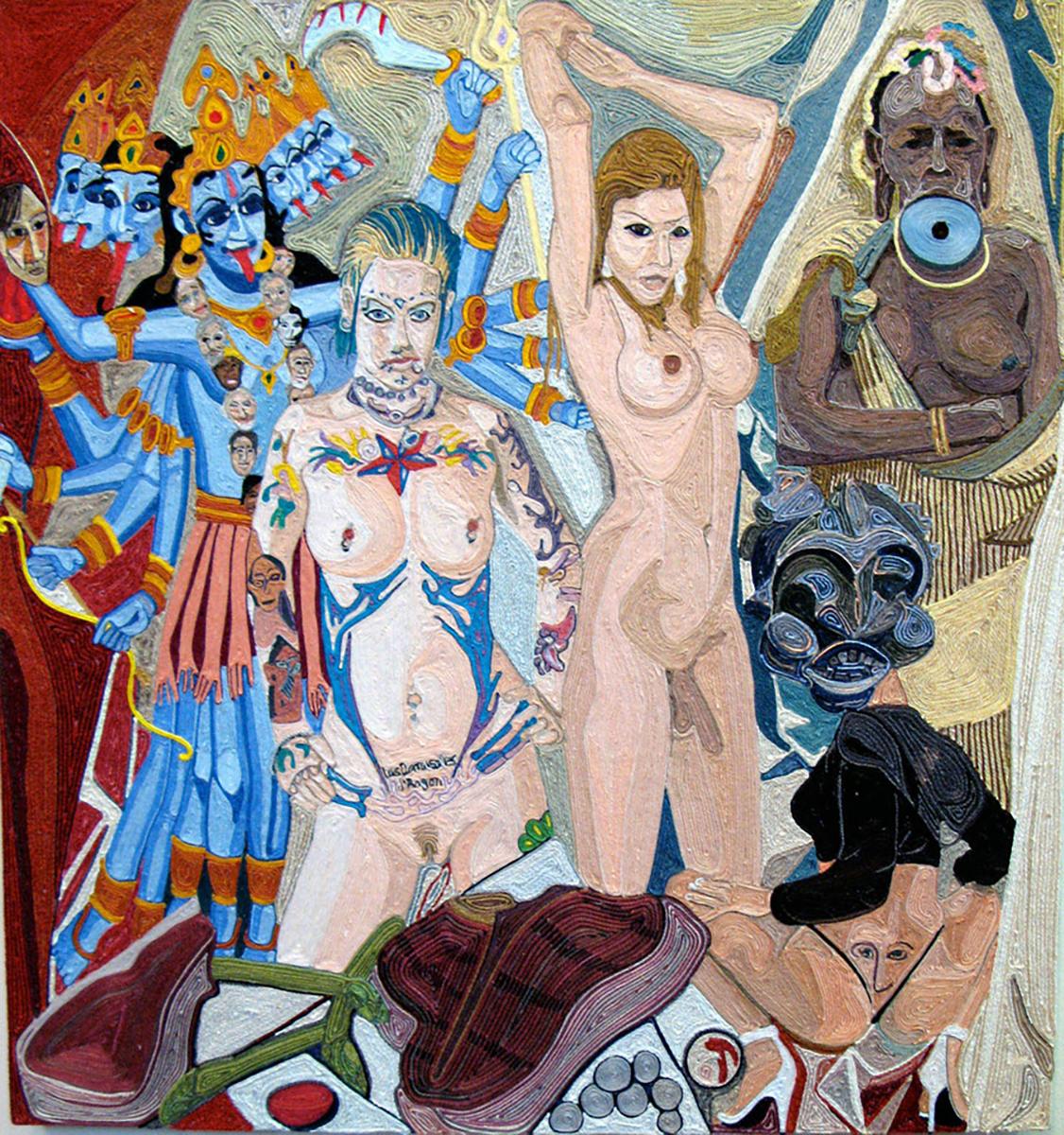 Les Demoiselles d'Avignon/Revisited 20 X 18