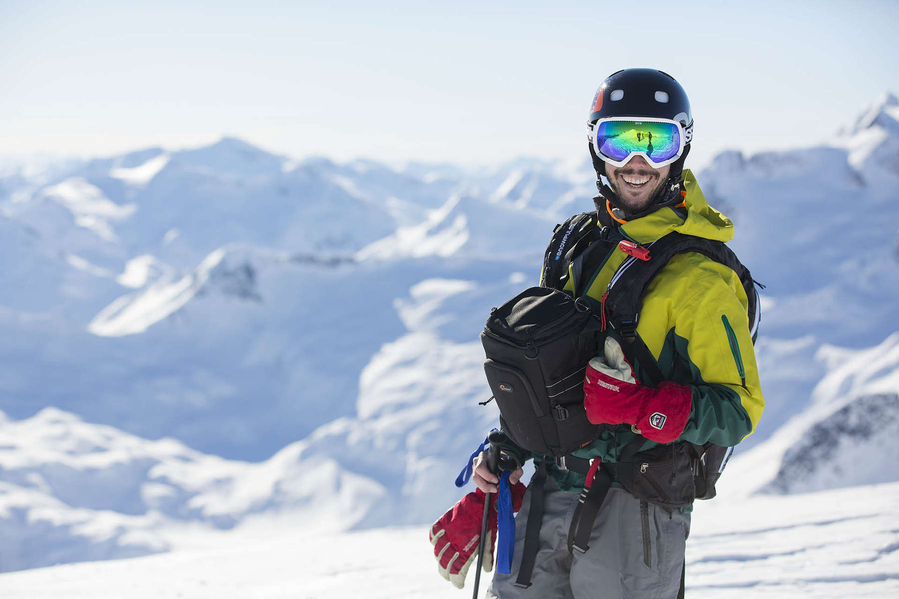 Photographer Aaron Whitfield has over 10 years of professional ski photography experience. The first six years, were spent capturing the guest experience at world reknown Island Lake Cat-Skiing. Since 2012, he has worked in the coast mountains of northwestern British Columbia with Northern Escape Heli-skiing.
