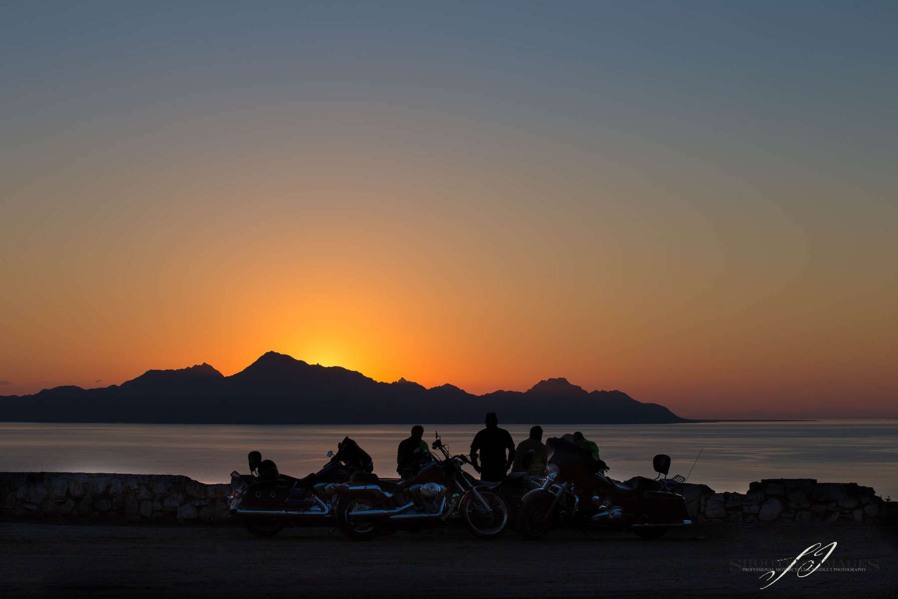 Sunrise on the Sea of Cortez