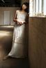 46963 JEMINERA DRESS LONG WHITE