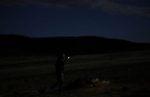 Daisy Hand does a nightly patrol around the Tenacious Unicorn Ranch. The ranchers had restarted nightly patrols after a news media article about them was published and they saw an uptick in threats of physical violence.