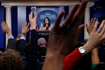 White House Press Secretary Sarah Huckabee Sanders takes questions during a daily briefing at the White House in Washington, U.S., March 7, 2018. REUTERS/Leah Millis