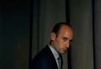 White House policy adviser Stephen Miller is seen at the Ohio Republican Party State Dinner in Columbus, Ohio, U.S., August 24, 2018.  REUTERS/Leah Millis