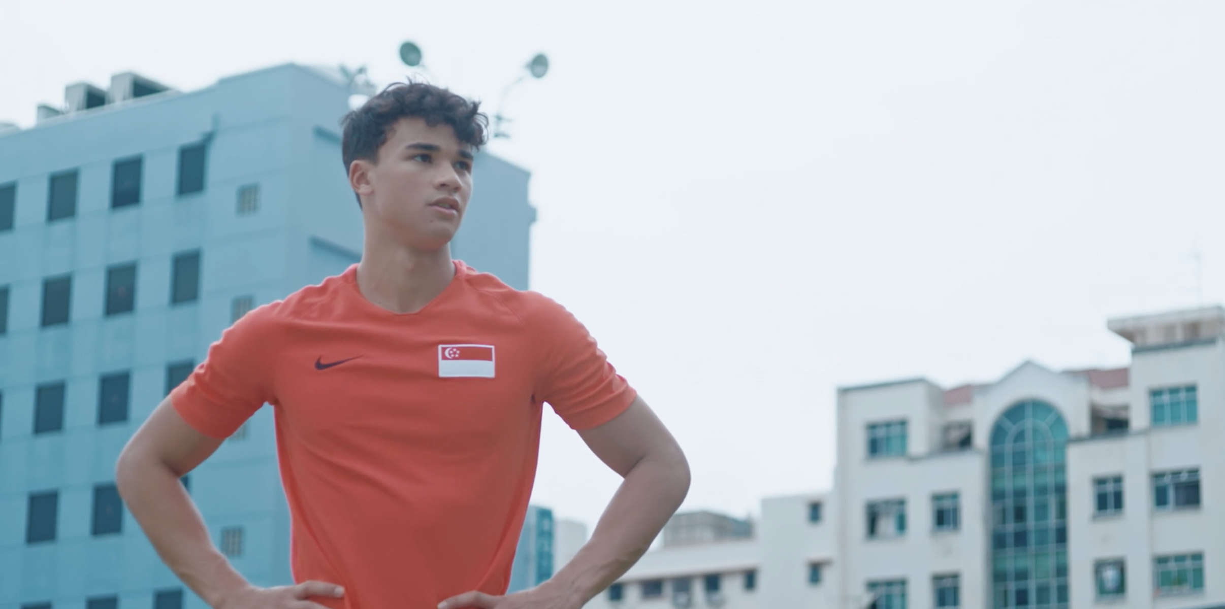 Team Singapore ROAR as ONE campaign for the SEA Games, featuring Ikhsan Fandi.(2019)