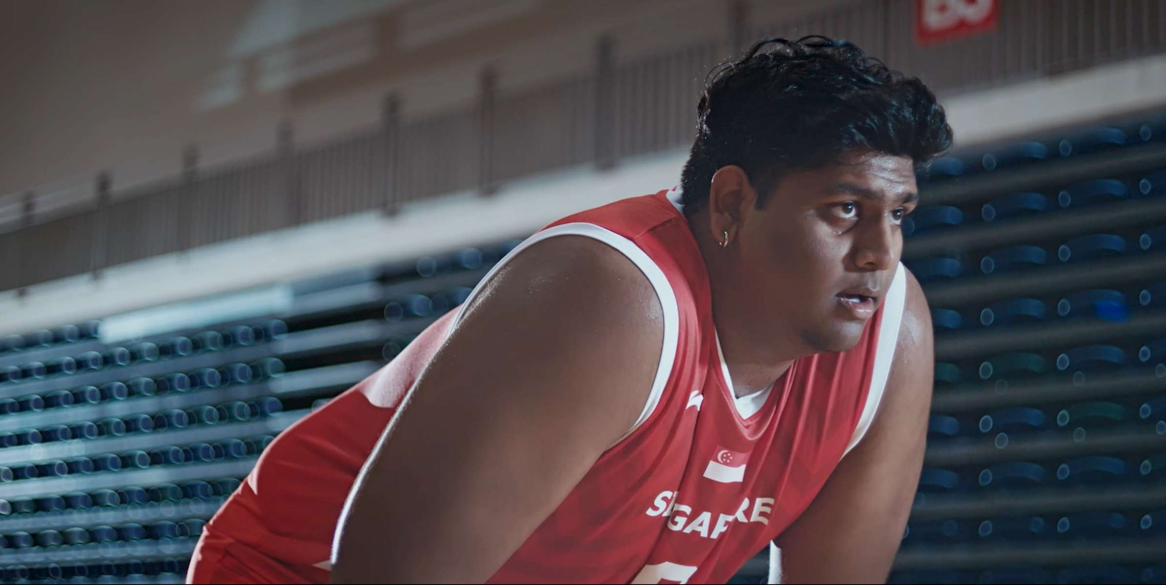 Team Singapore ROAR as ONE campaign for the SEA Games, featuring Lavin Raj.(2019)