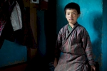 At home in Bhutan