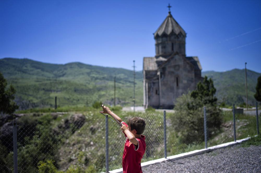 Syrian Refugee - Berdzor, Nagorno-Karabakh