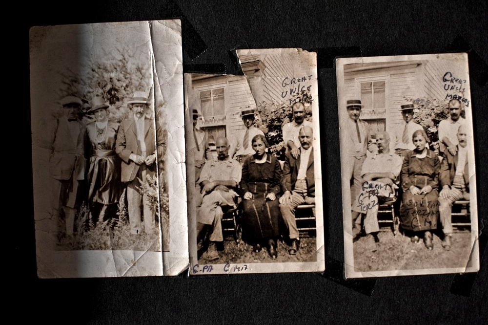 Family photographs - Whitman, MA