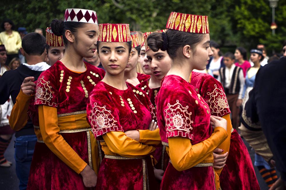 First Republic Day, Freedom Square - Yerevan, Republic of Armenia