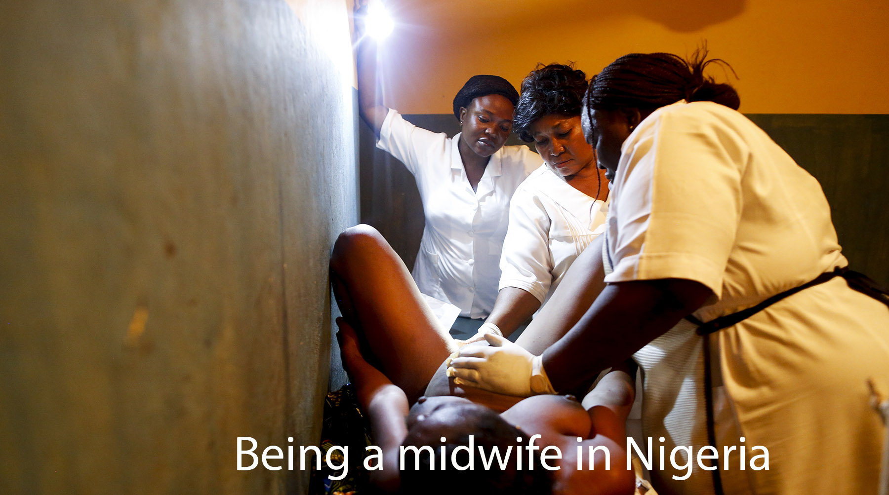 Being a midwife in Nigeria