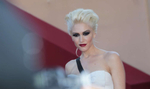 Singer Gwen Stefani arrives at the screening of 'This Must Be The Place' at the Palais des Festivals during the Cannes Film Festival in Cannes, France.
