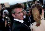 Actor Sean Penn arrives at the screening of 'This Must Be The Place' at the Palais des Festivals during the Cannes Film Festival  in Cannes, France.