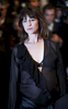 Actress Charlotte Gainsbourg arrives at the 'Melancholia' screening during the Cannes Film Festival at the Palais des Festivals  in Cannes, France.