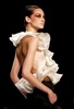 A model walks the runway during the Rheem Acra fashion show, at the New York fashion week, in New York