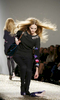 A model walks the runway during the Rebecca Taylor fashion show, at the New York fashion week, in New York.