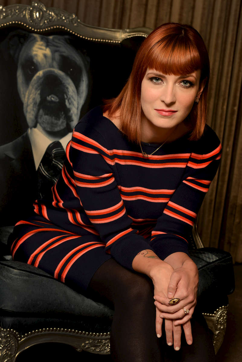 Writer Diablo Cody of the film \{quote}Paradise\{quote} poses for a portrait at the SLS Hotel on Thursday, Oct. 10, 2013 in Beverly Hills, Calif. (Photo by Jordan Strauss/Invision/AP)