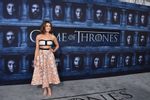 Maisie Williams attends the season six premiere of  {quote}Game Of Thrones{quote} at TCL Chinese Theatre on Sunday, Apr. 10, 2016 in Los Angeles. (Photo by Jordan Strauss/Invision/AP)