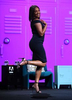 Tiffany Haddish keeps the crowd laughing during Sneaks at  Adobe MAX on Tuesday, Oct. 16, 2018 in Los Angeles. (Jordan Strauss/AP Images for Adobe)