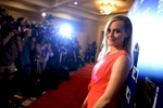 Taylor Schilling arrives at the Hollywood Foreign Press Luncheon at the Beverly Hilton Hotel on Tuesday, August 13, 2013 in Beverly Hills, Calif. (Photo by Jordan Strauss/Invision/AP)
