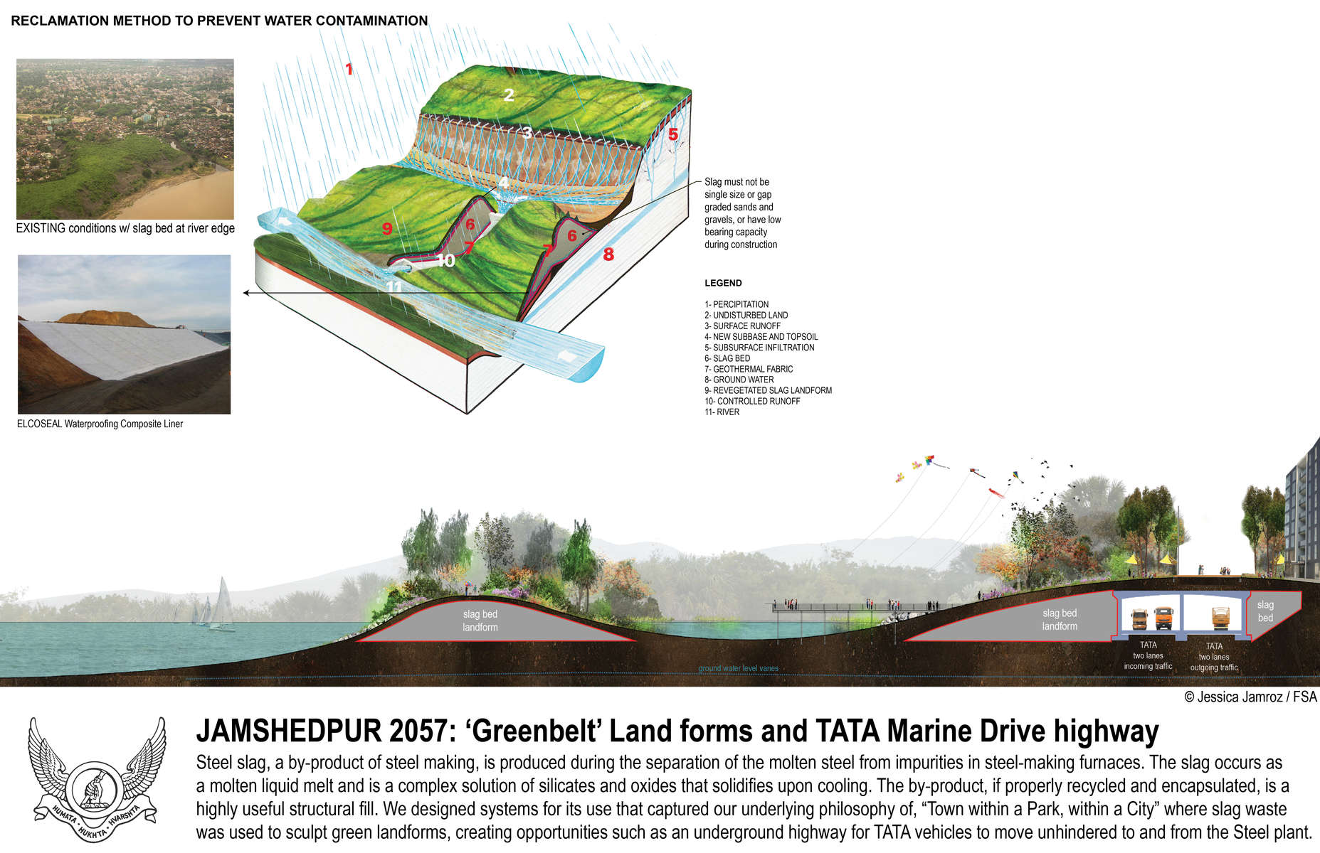 Tata-slag-landforms
