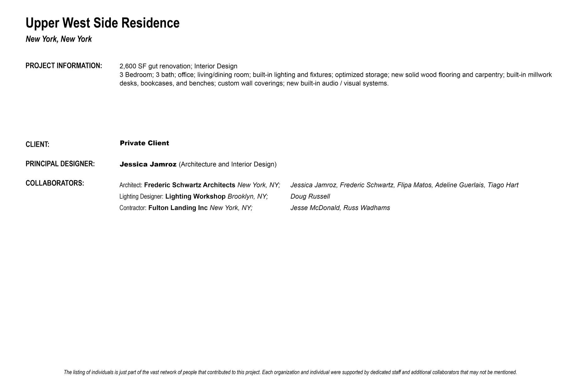 UWS-residence-Project-Credits