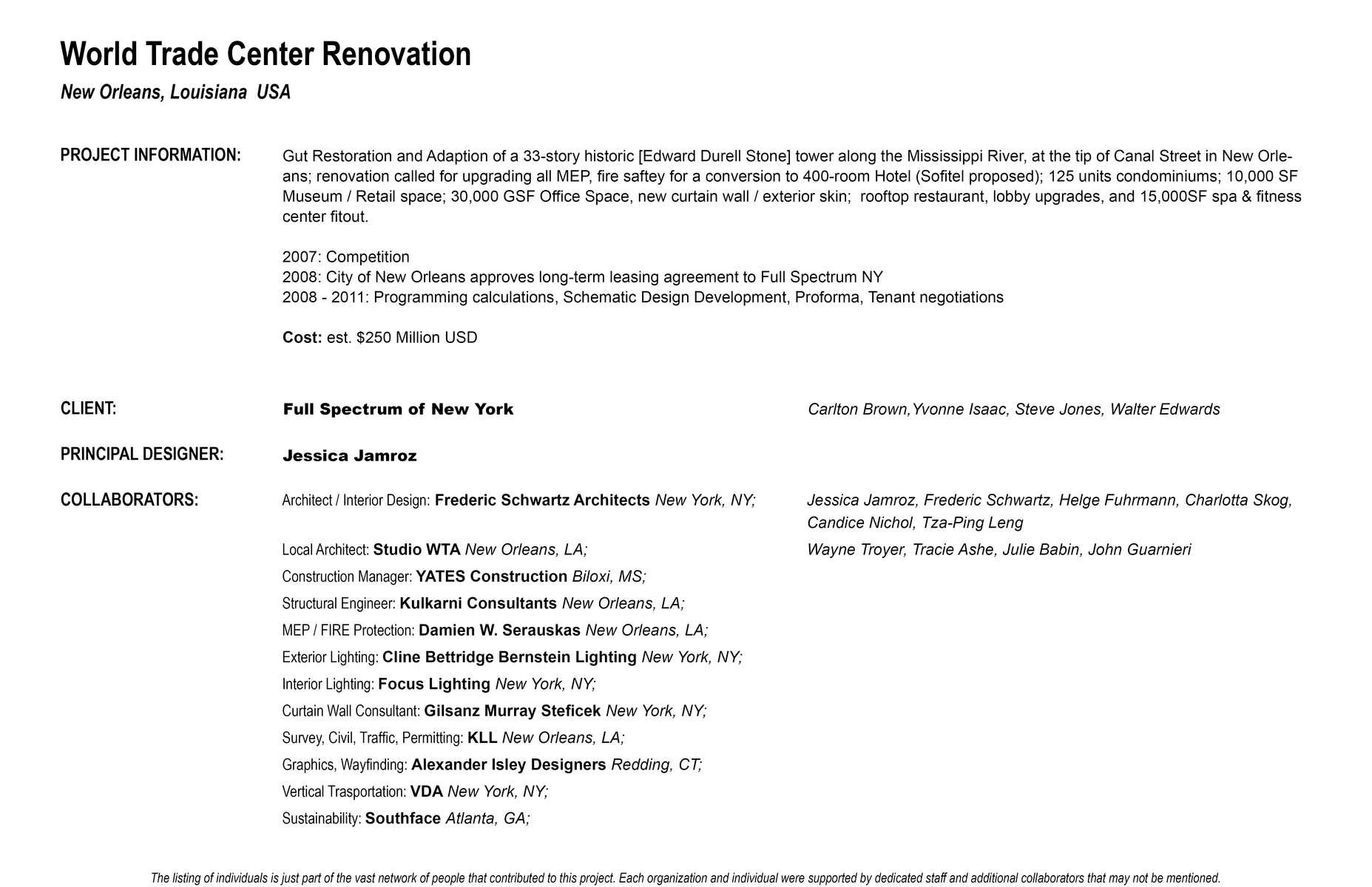 WTC-Project-Credits