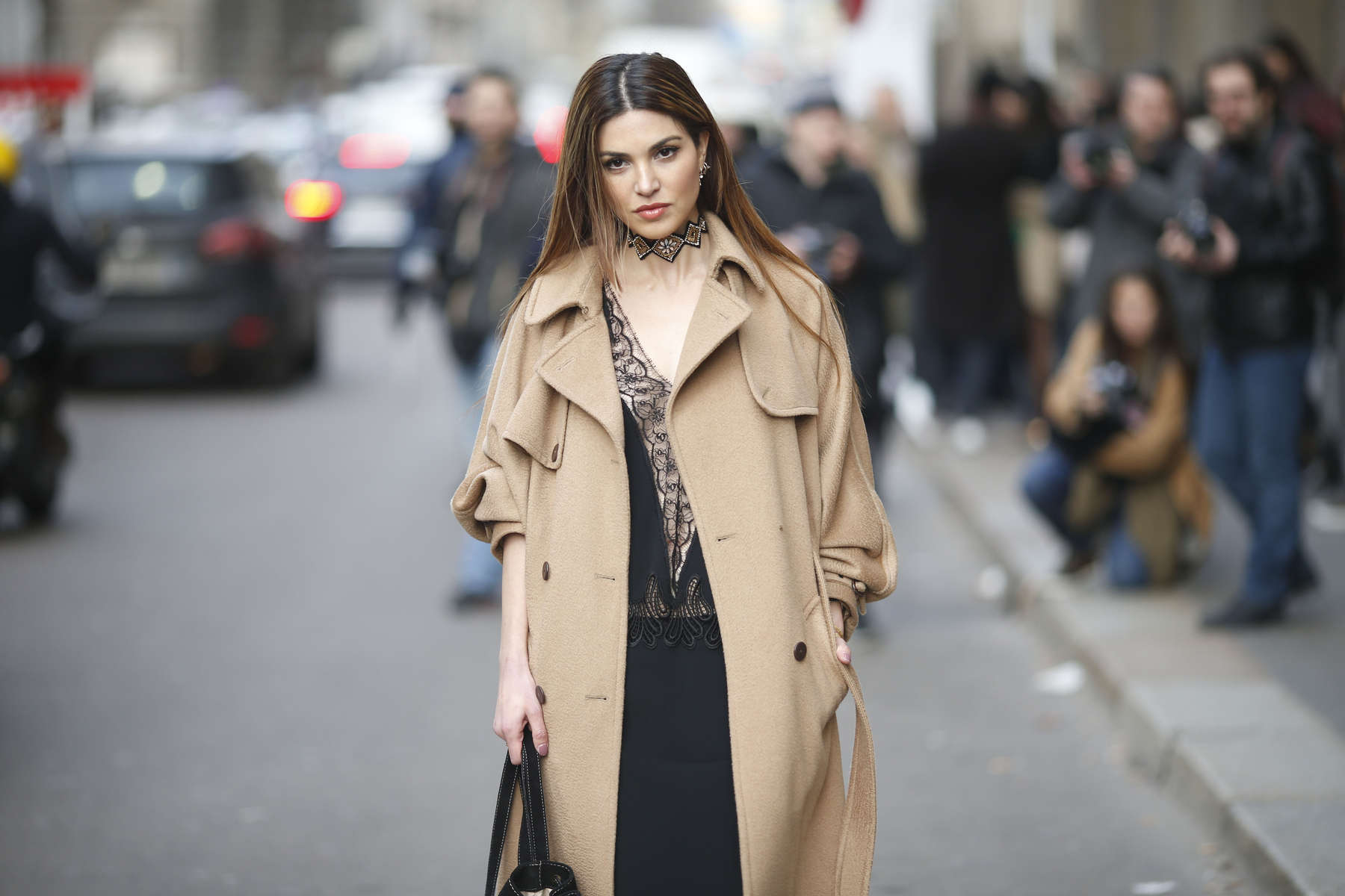Negin Mirsalehi - Milan Fashion Week, Feb. 2016