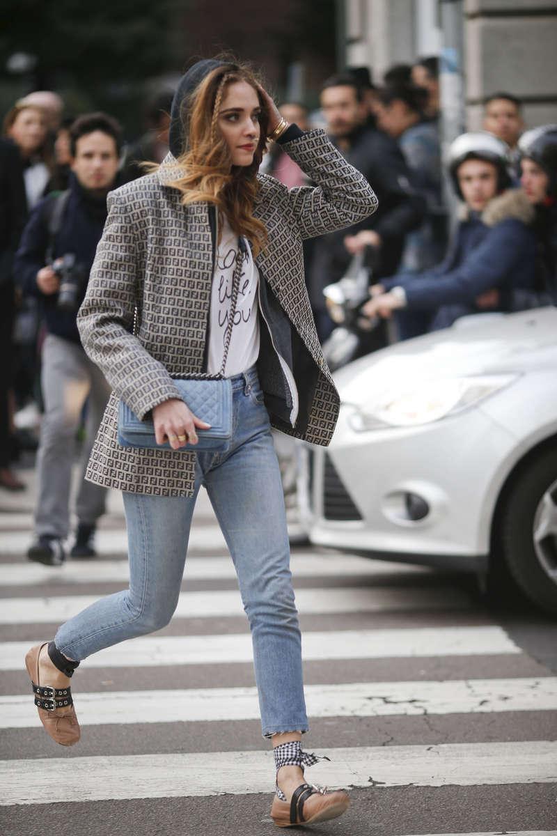 Chiara Ferragni - Milan Fashion Week, Feb. 2016