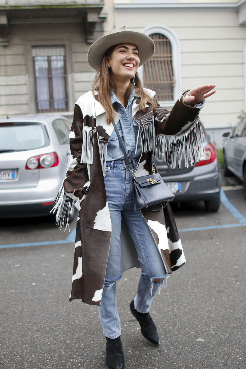 Patricia Manfield - Milan Fashion Week, Feb. 2016