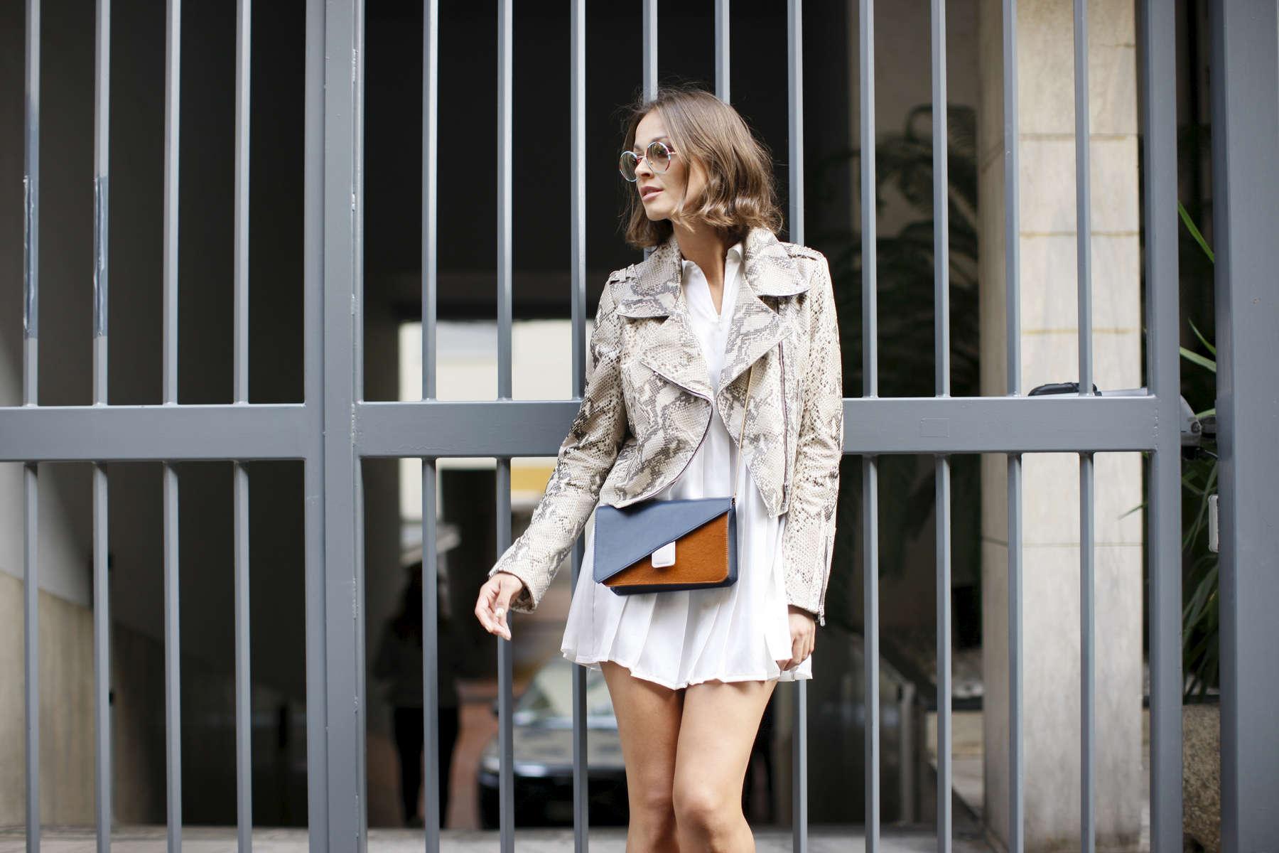 Kasia Borowicz - Milan Fashion Week, Sept. 2015