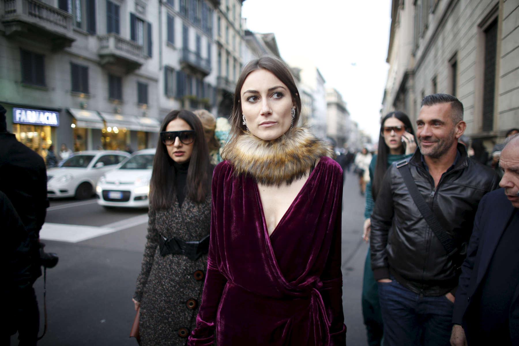 Giorgia Tordini - Milan Fashion Week, Feb. 2016