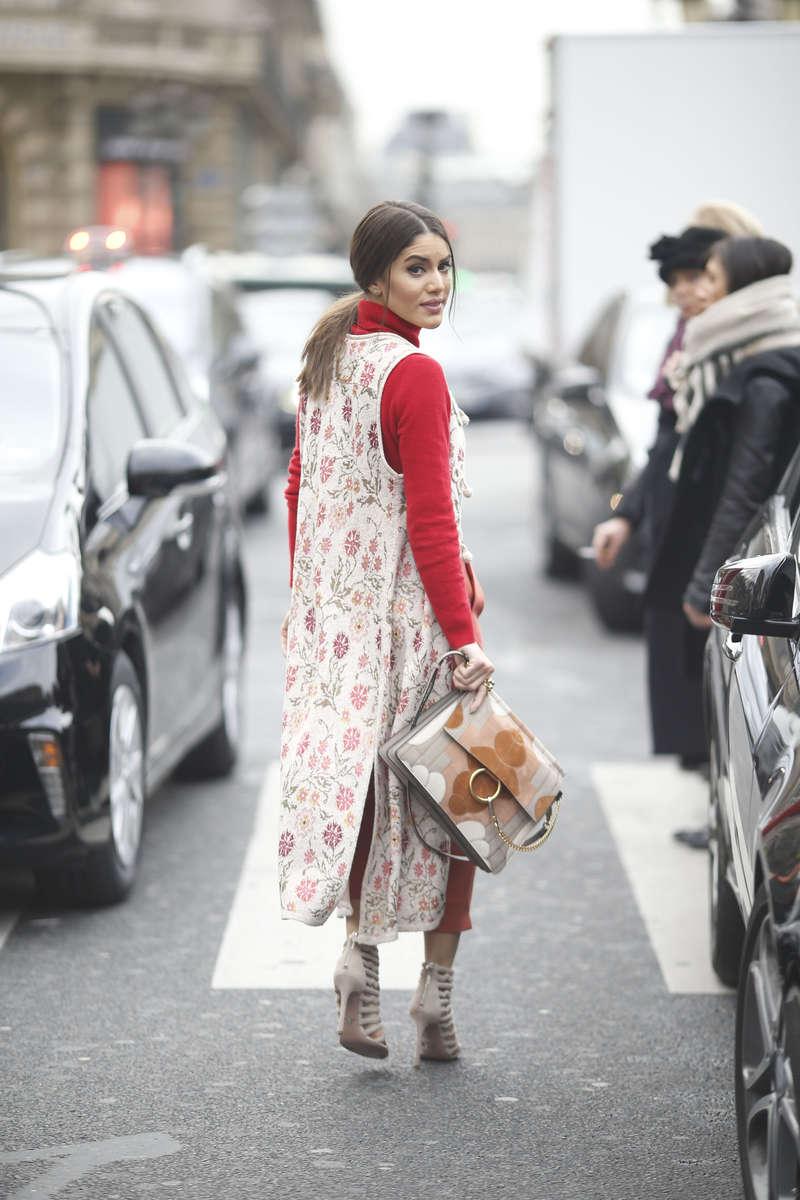 Camila Coelho - Paris Fashion Week, March 2016