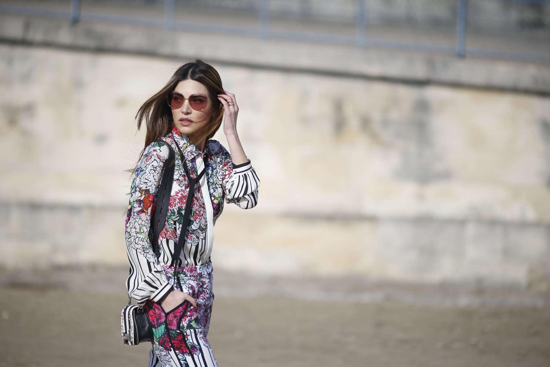Negin Mirsalehi - Paris Fashion Week, March 2016